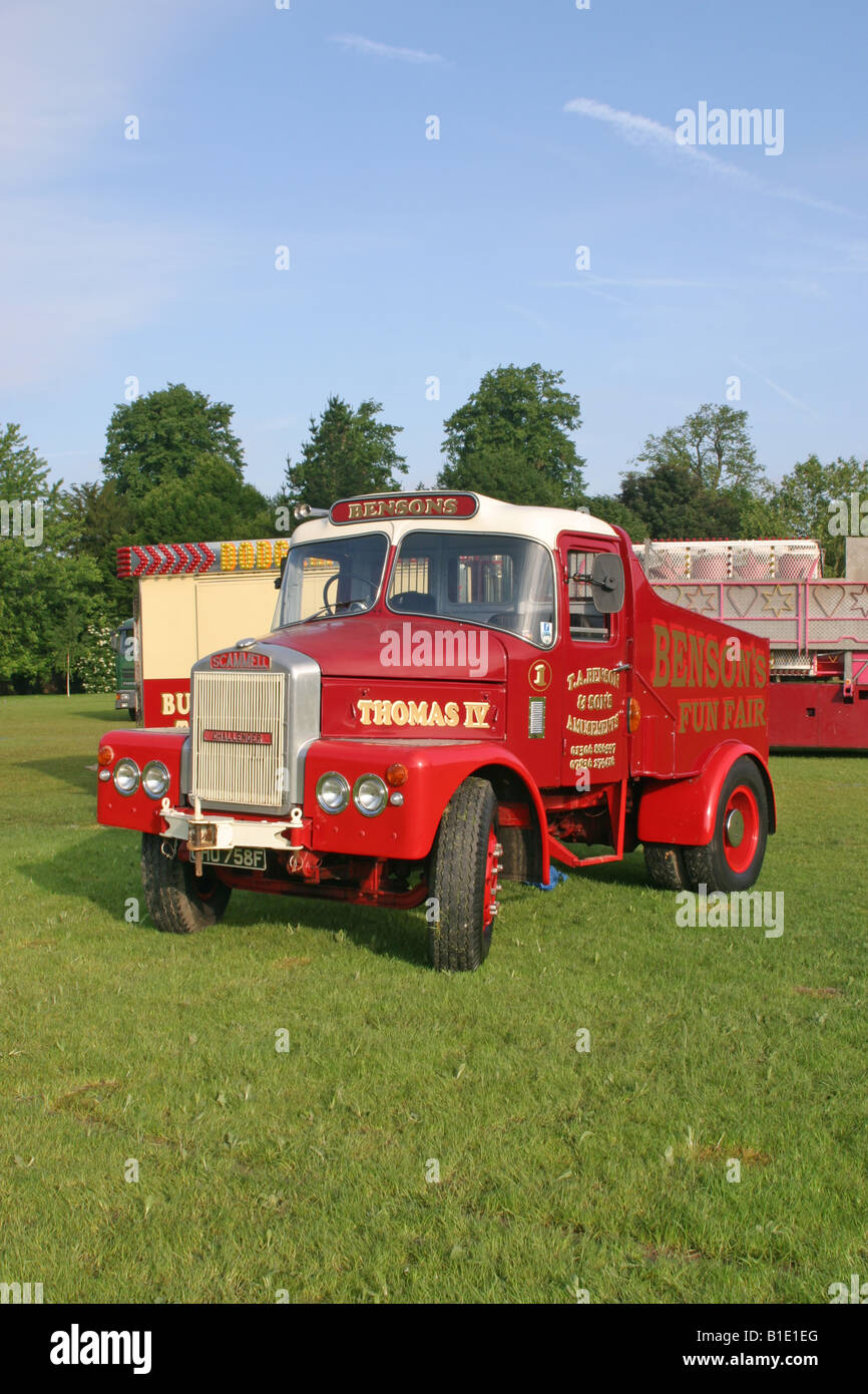 Scammell Highwayman Tractor Stock Photo