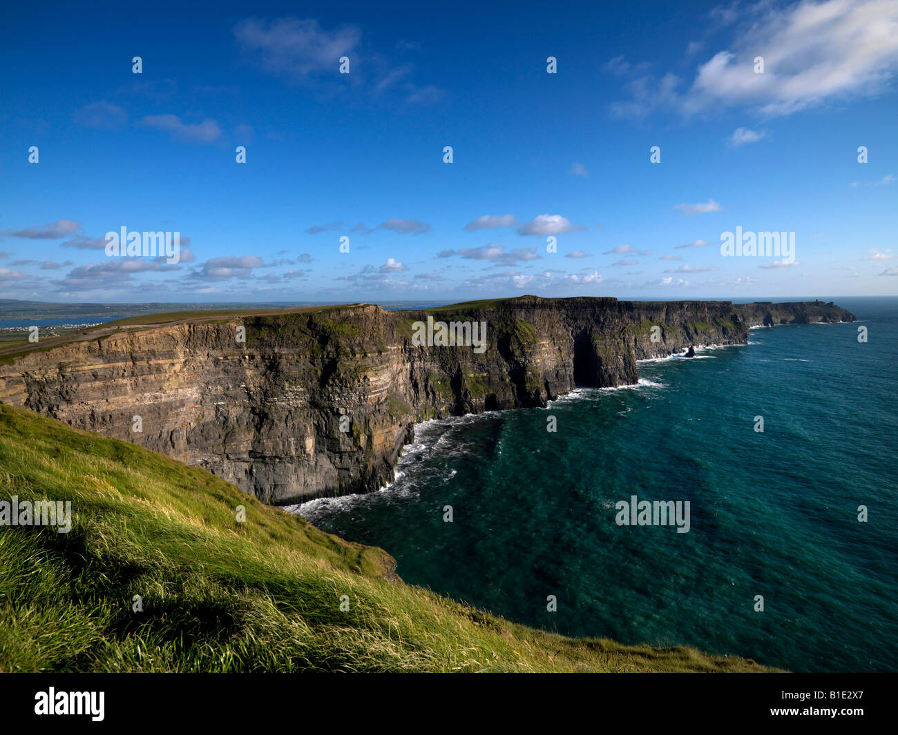 Cliffs of Moher Clare - Stock Image