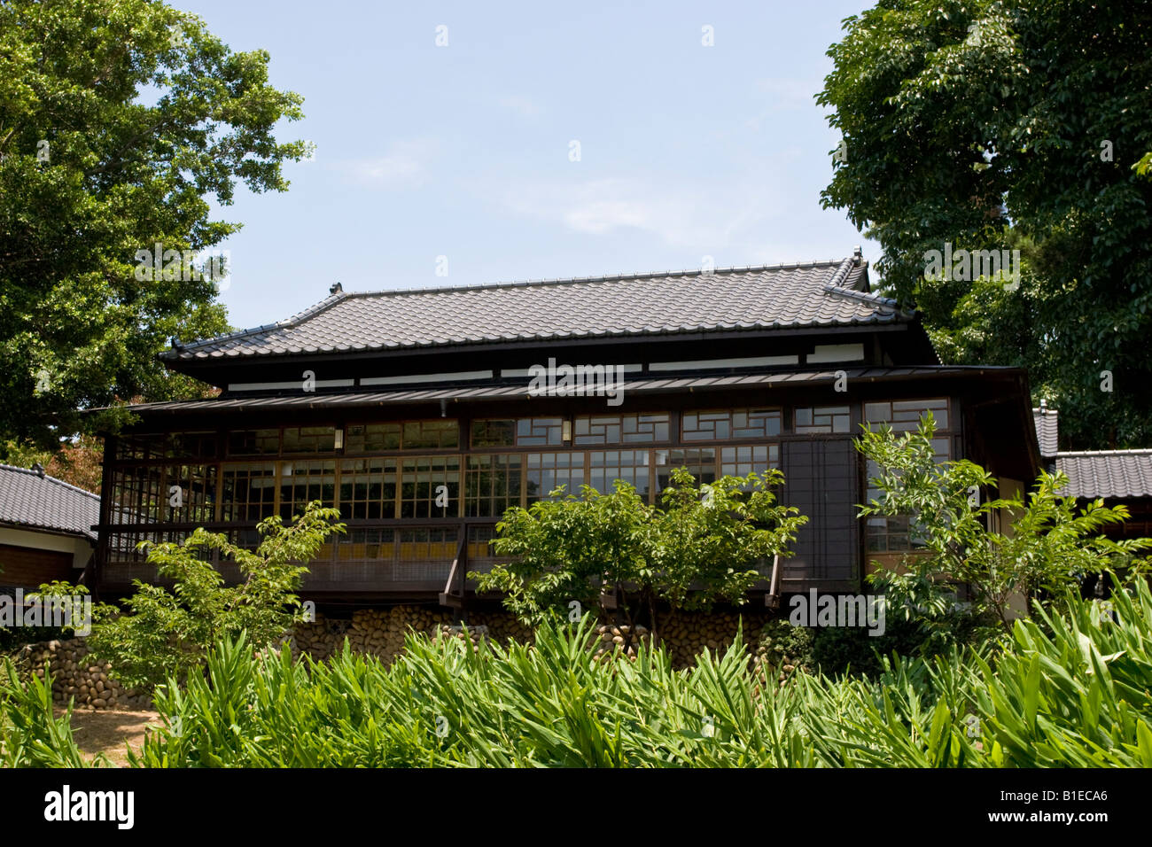 Early 20th century japanese style house in hsinchu park hsinchu taiwan roc