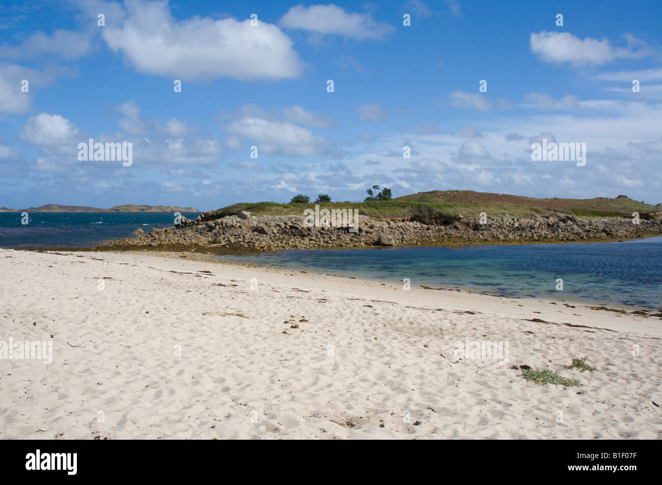 Toll's Island, St. Mary's, Isles of Scilly - Stock Image