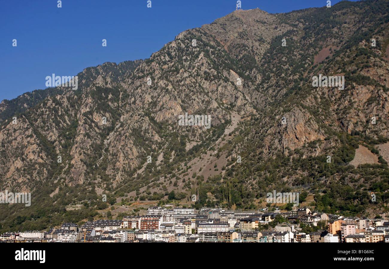 Andorra la Vella Andorra Europe Stock Photo