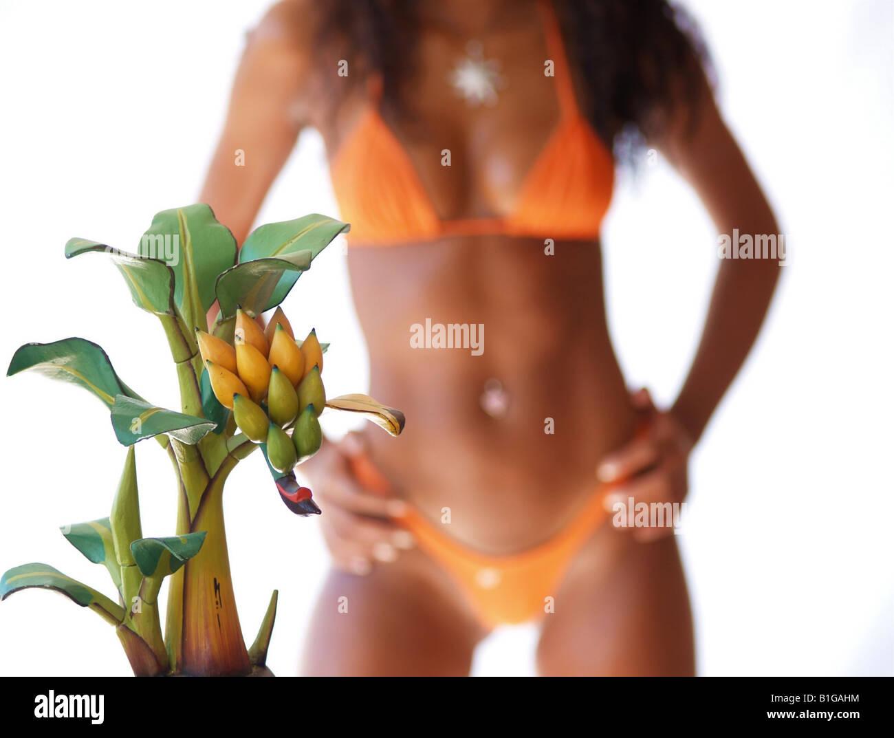 cee740c8d5a39 Banana Bikini Bikini Stock Photos & Banana Bikini Bikini Stock ...