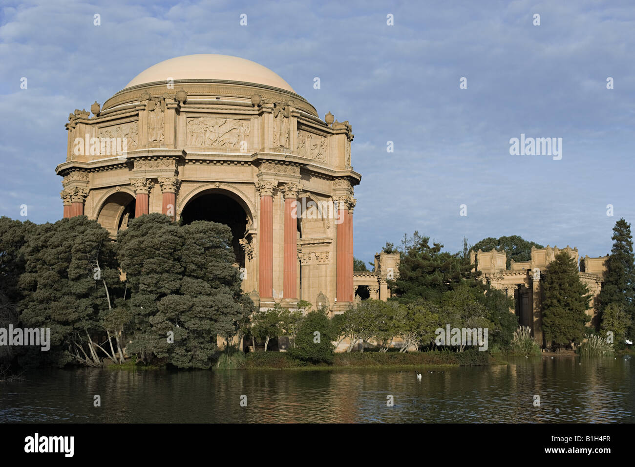 Palace of fine arts san francisco - Stock Image
