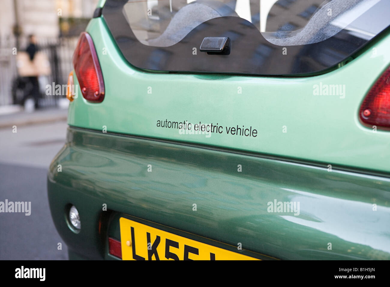 Electric car - Stock Image