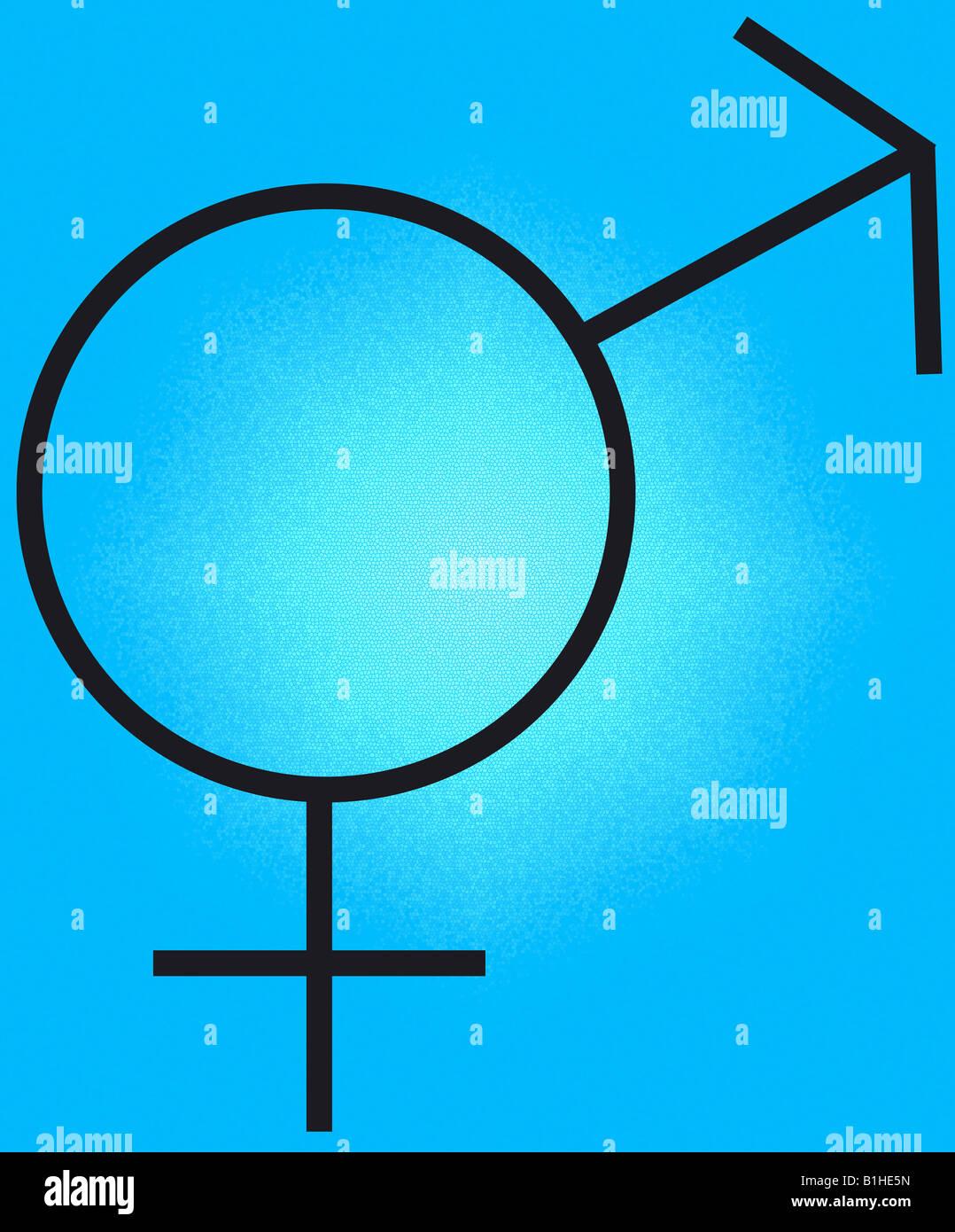Xy Male And Female Symbols Sex Gender Male Female Same Man