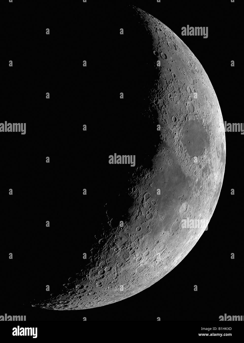 The Earth's Moon - Stock Image