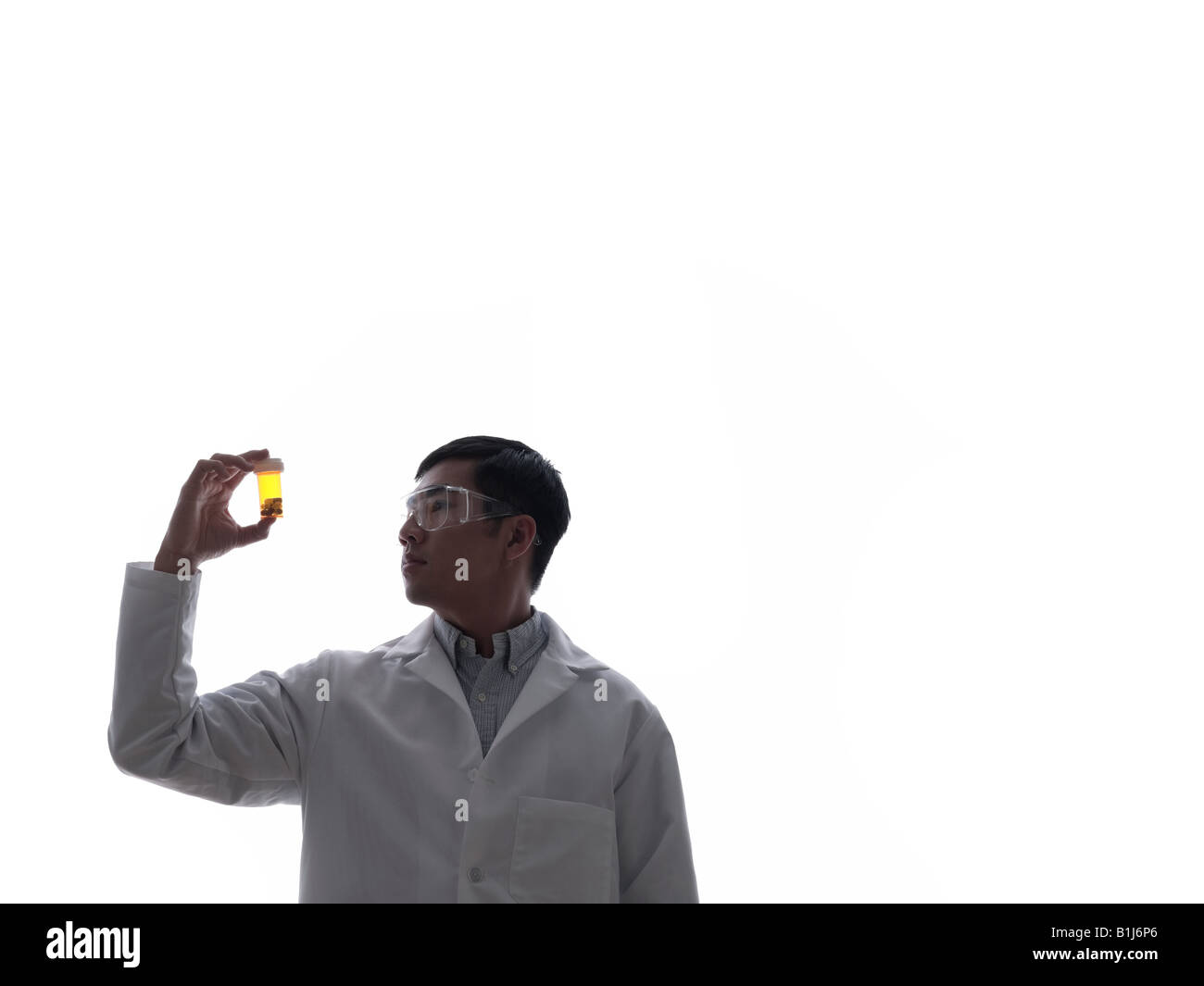 Doctor with medicine - Stock Image