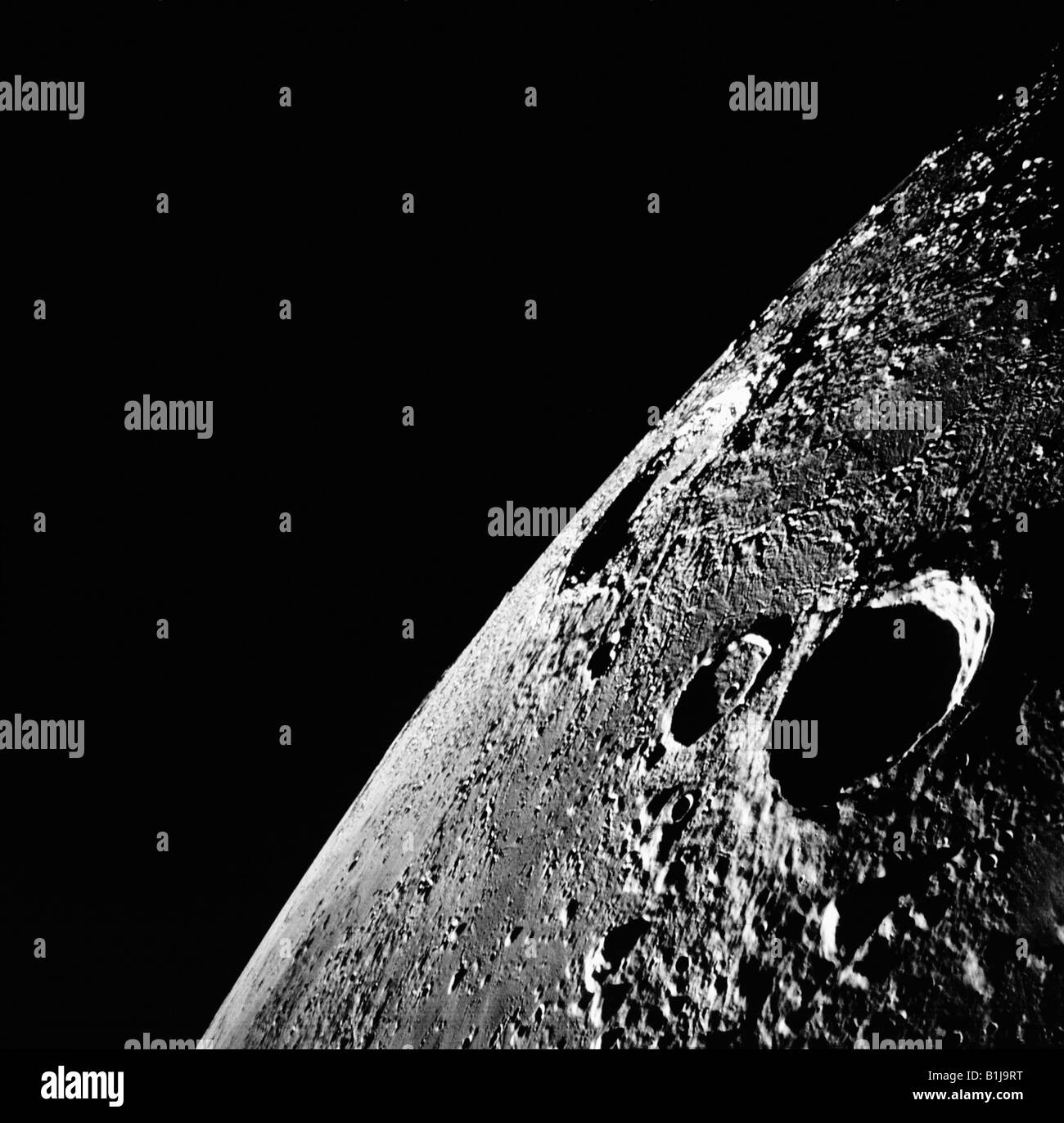 The Moon from Apollo 12 - Stock Image