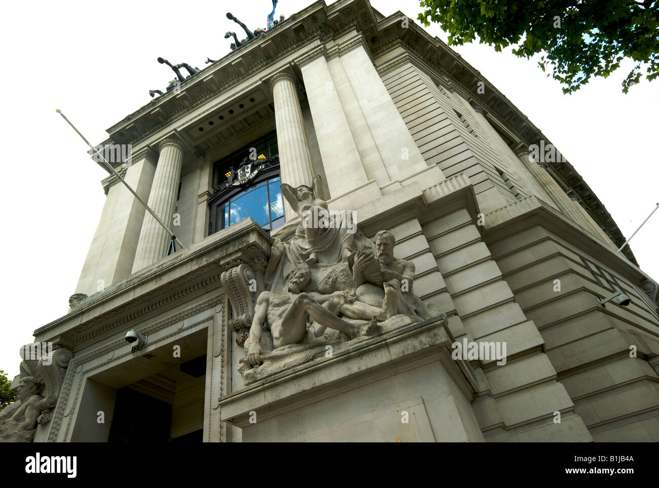 Australia House in The Aldwych London UK which houses the Austalian High Commission the first Australian diplomatic - Stock Image