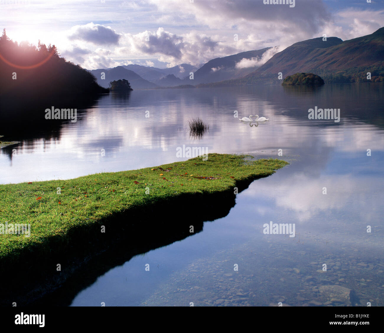 GB - CUMBRIA:  Derwentwater in the Lake District National Park - Stock Image