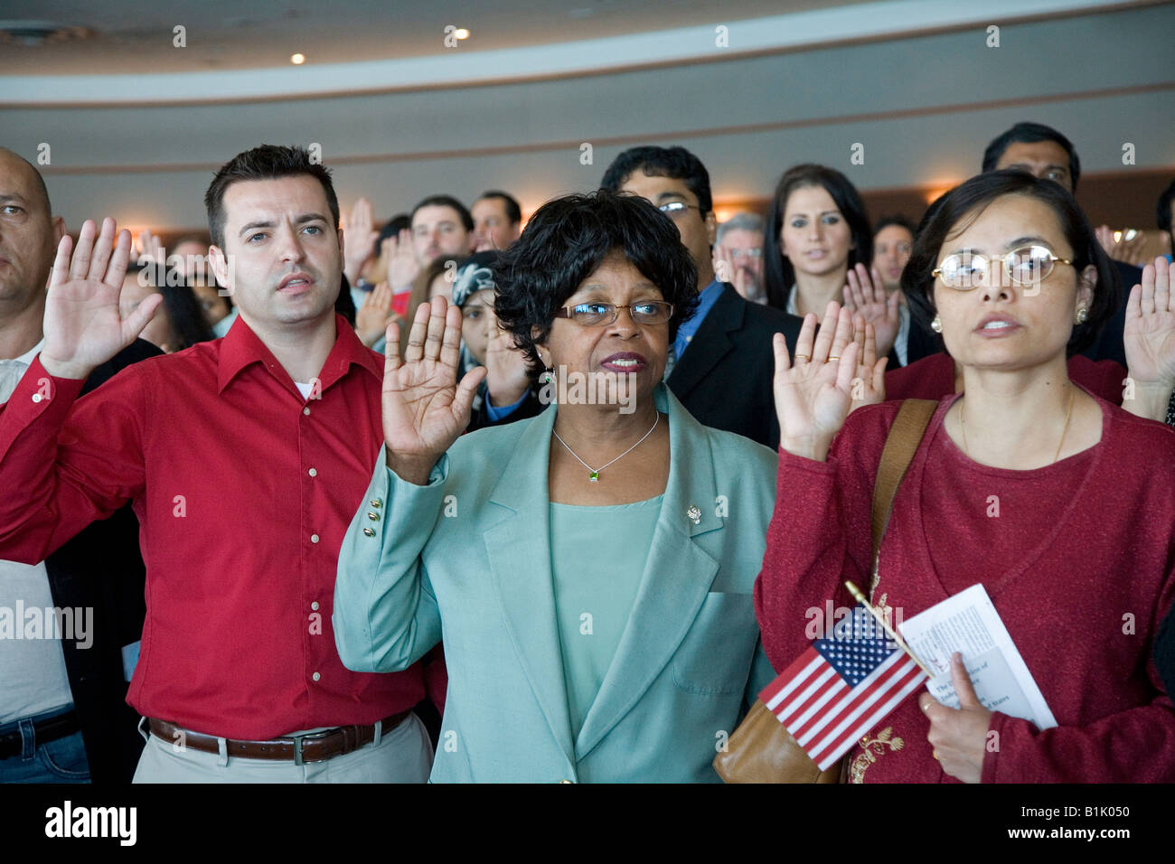 Oath Of Citizenship Ceremony Stock Photos & Oath Of Citizenship ...