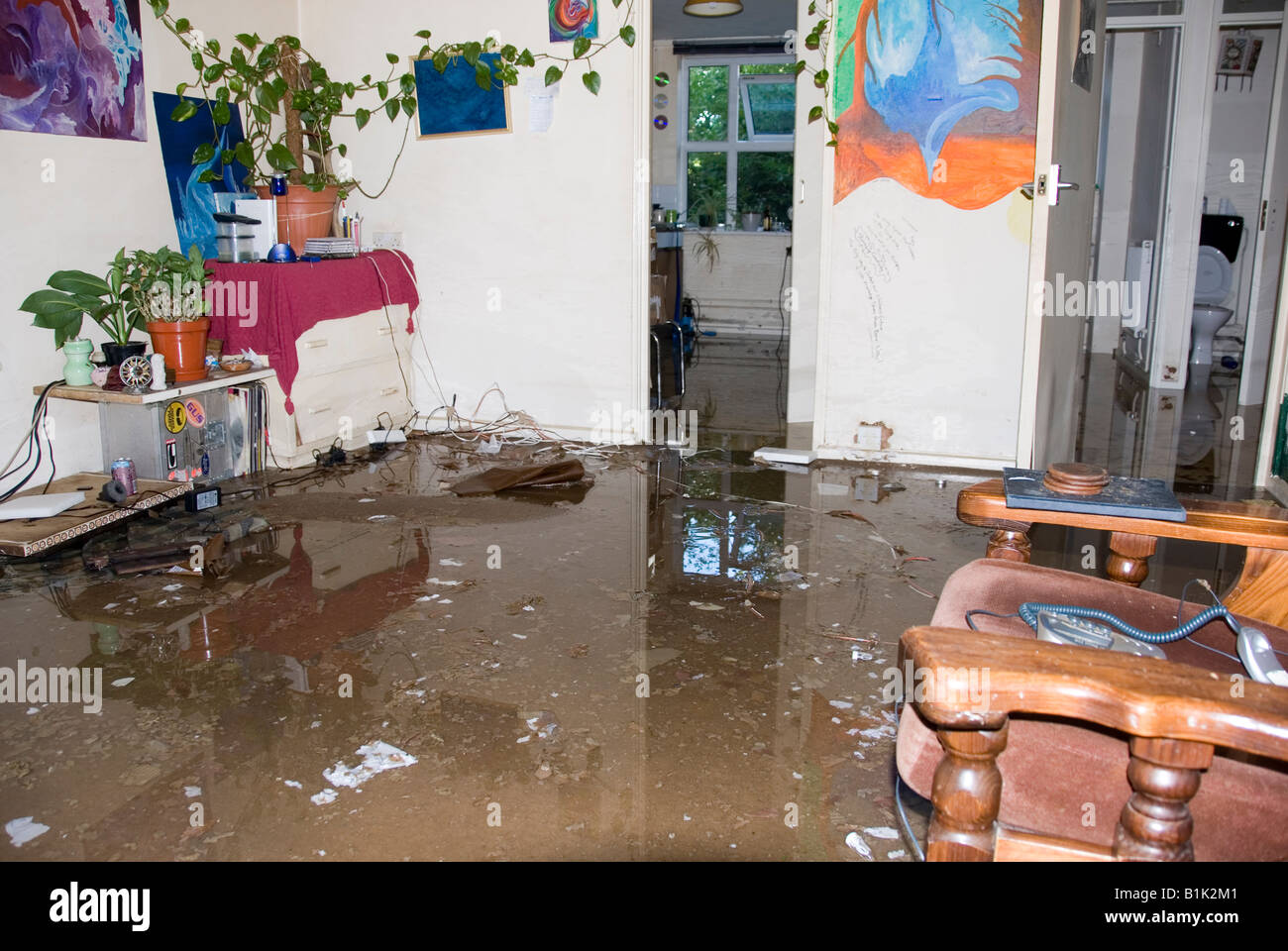 Magnificent Flood Damage Inside House Stock Photos Flood Damage Inside Download Free Architecture Designs Xoliawazosbritishbridgeorg