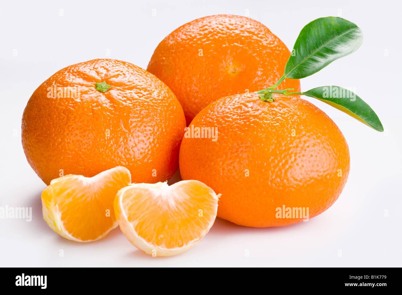 mandarine tangerine - Stock Image