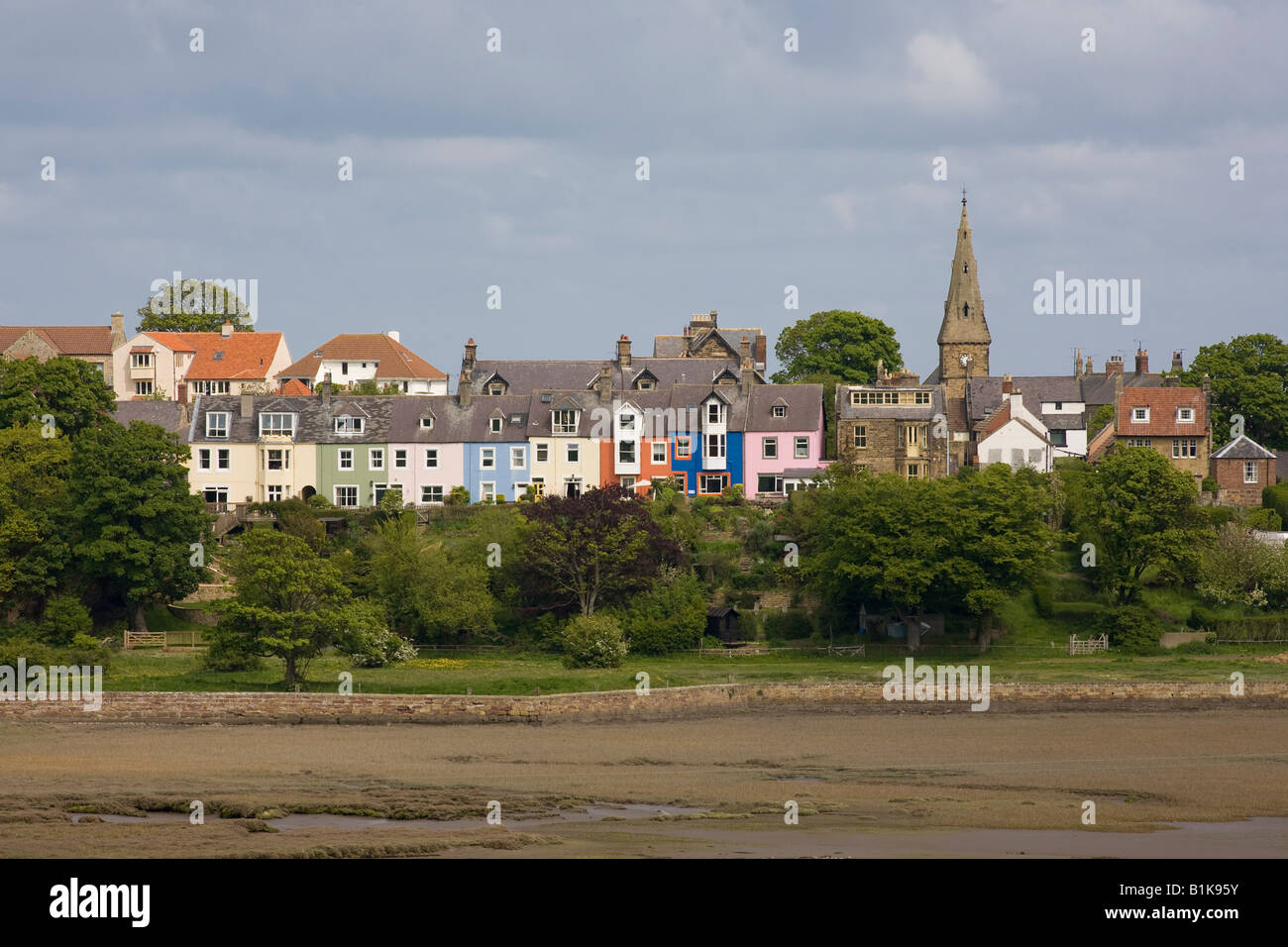 Alnmouth Northumbria - Stock Image