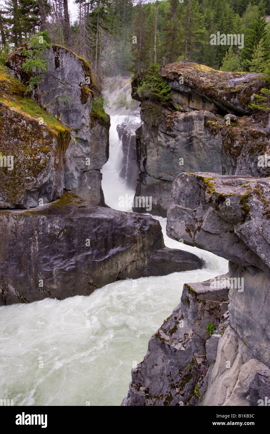 Nairn Falls - Stock Image