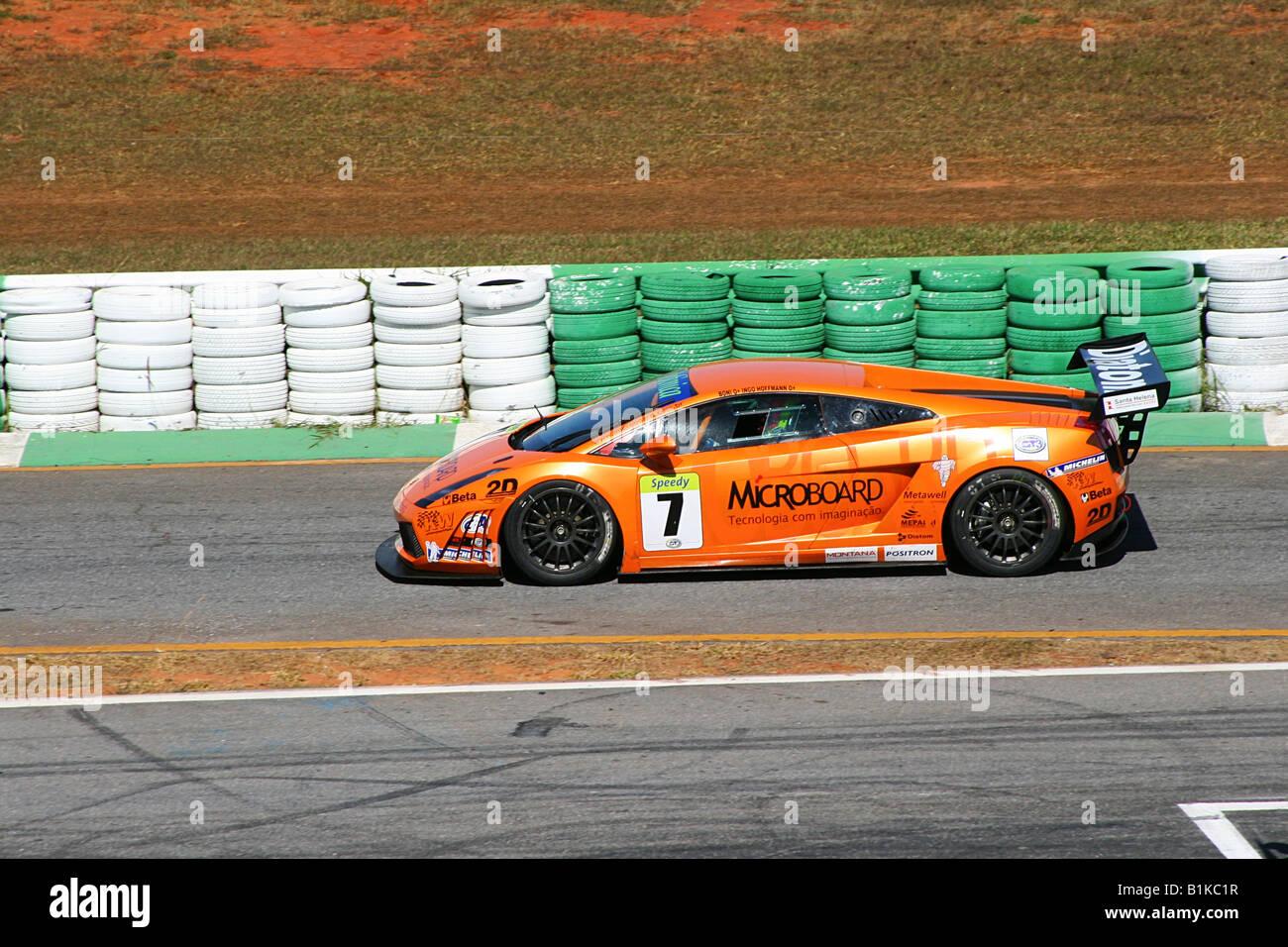 Lamborghini Gallardo, Ingo Hoffmann, GT3 Brazilian Racing Cup, Nelson  Piquet Autodrome, Brasilia