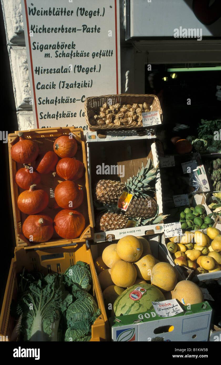Hamburg St Georg Healthy Food