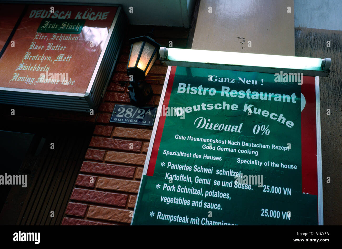 German Restaurant In Ho Chi Minh S District Saigon Run By A Stock
