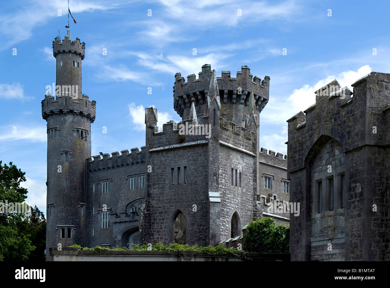 Charville Castle Offaly Ireland Stock Photo