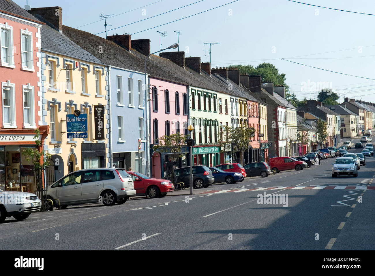 Foothill Co.Monaghan Ireland - Stock Image