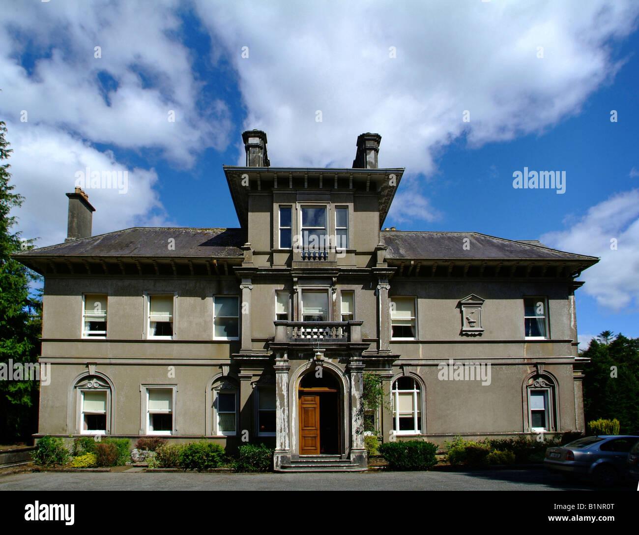 Clonalis House Roscommon Ireland - Stock Image