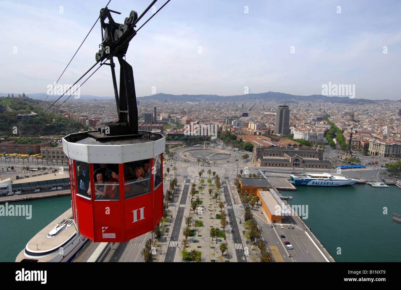 "Cable Automotive Oklahoma City : Barcelona ""cable car ride over port vell harbour"