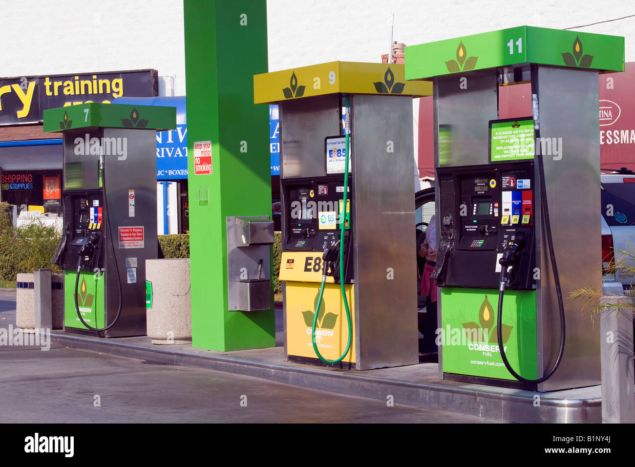 E85 Gas Stations >> Conserv Fuel Gas Station Sells Biodiesel And Ethanol