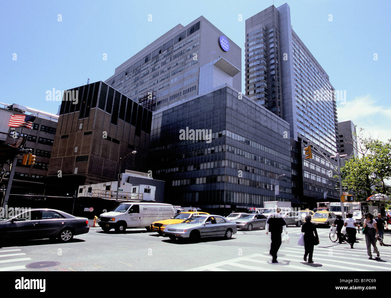 New York City University Hospital NYU Medical Center Langone Medical Center USA NYC Stock Photo
