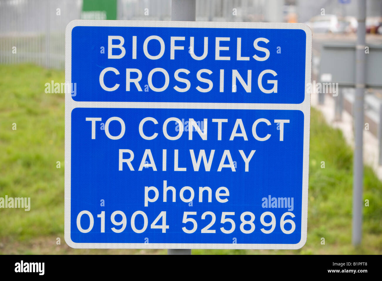 A Bio fuel refinery on Teeside - Stock Image