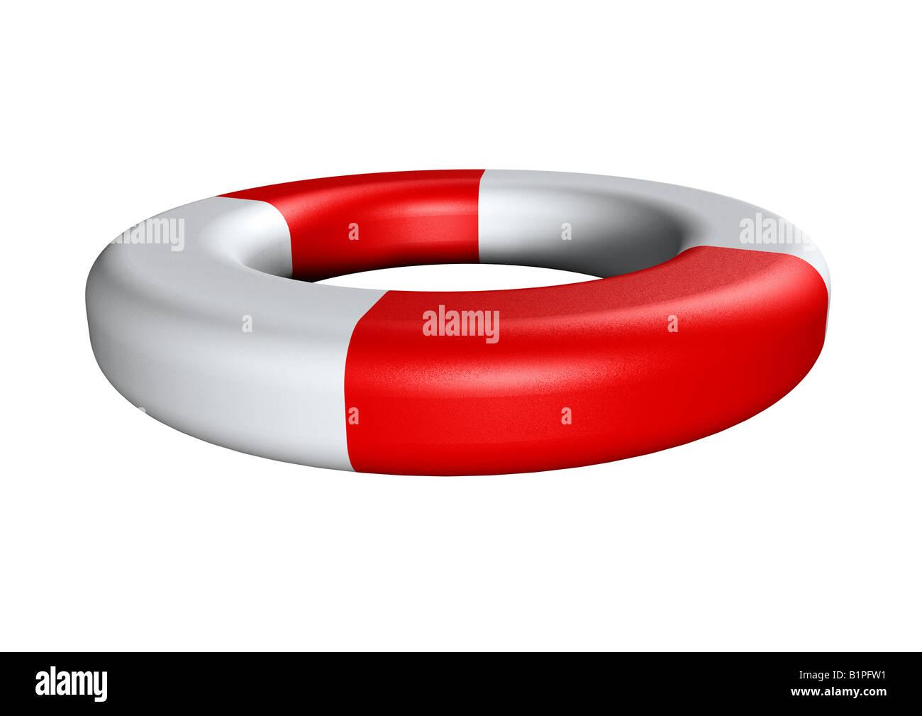 life saver Rettungsring - Stock Image