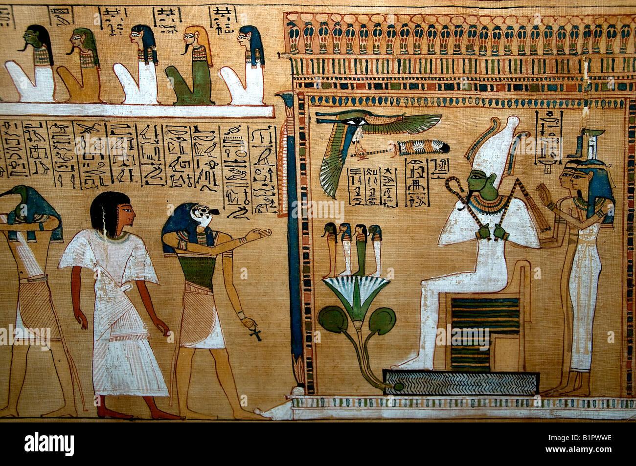😊 Judgement of hunefer before osiris. British Museum. 2019 ...  Judgement Before Osiris