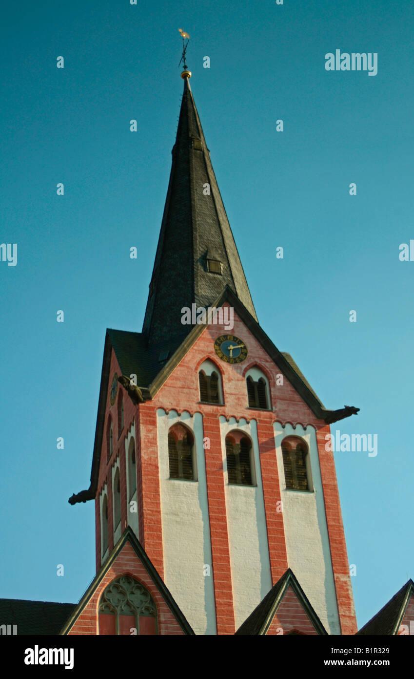 St Maria church, Kempen, North Rhine Westphalia, Germany - Stock Image