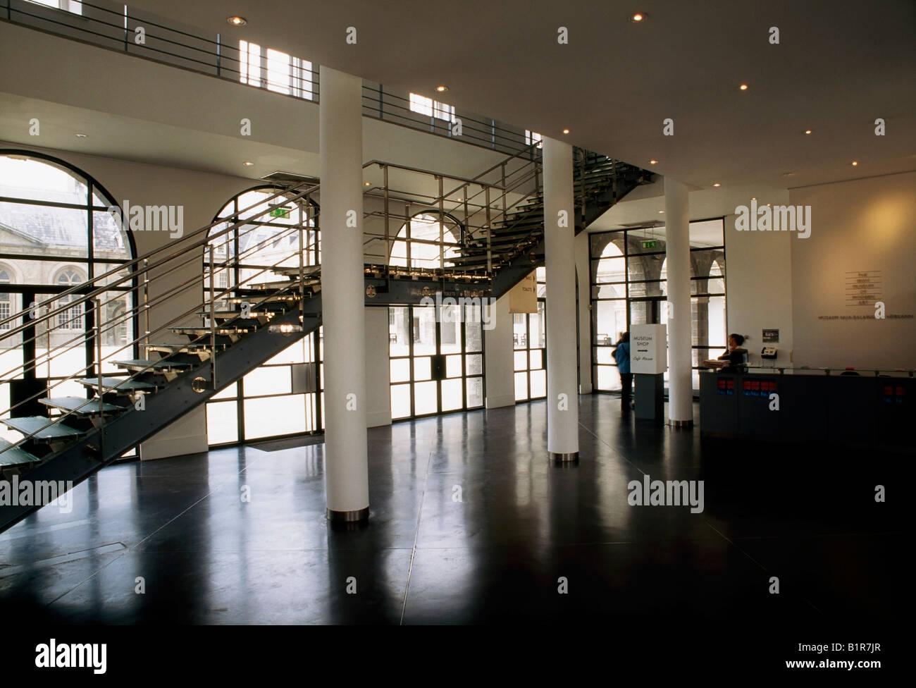 Dublin, Co Dublin, Ireland, Interior View of the Irish Museum of ...