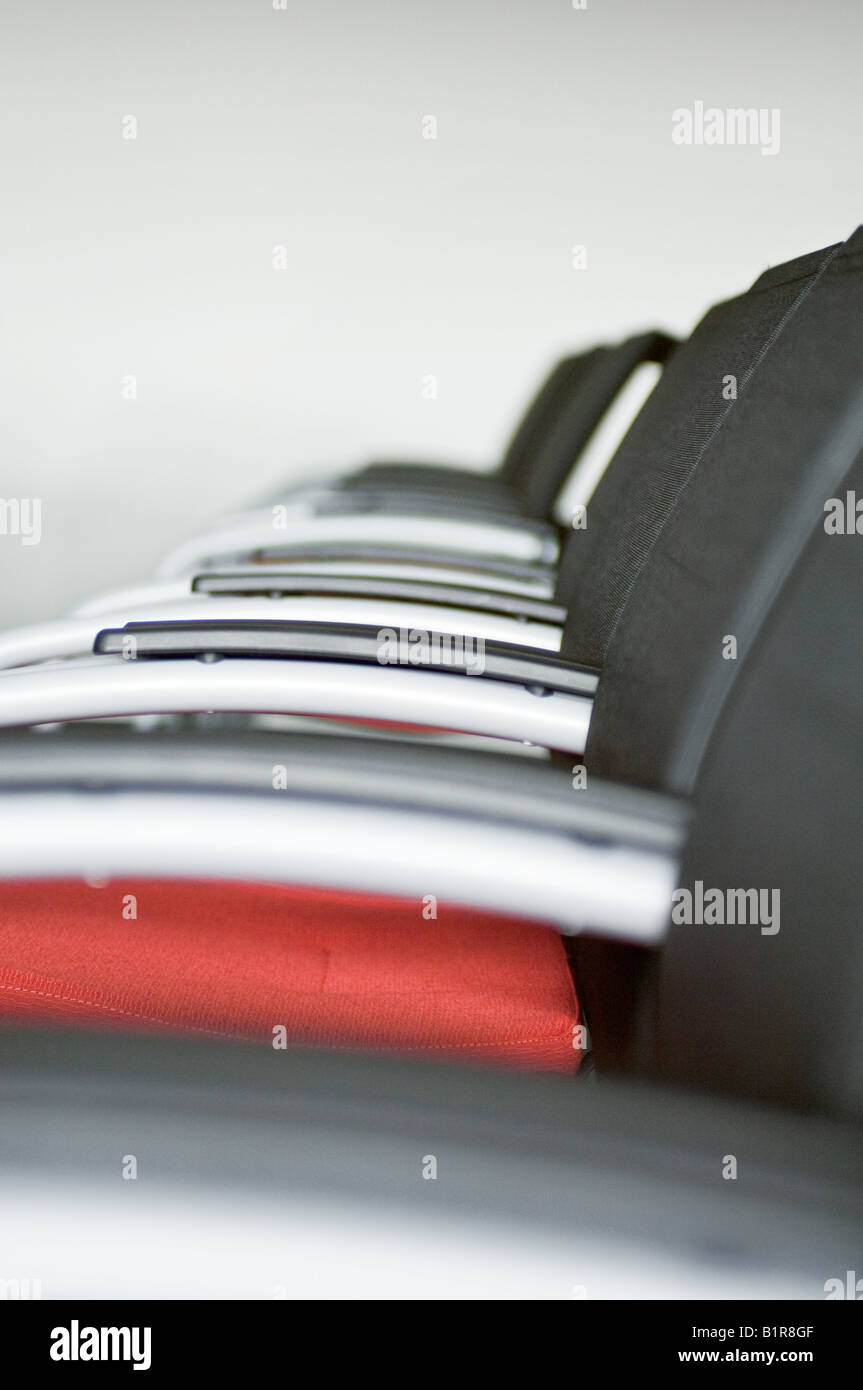 conference seating - Stock Image