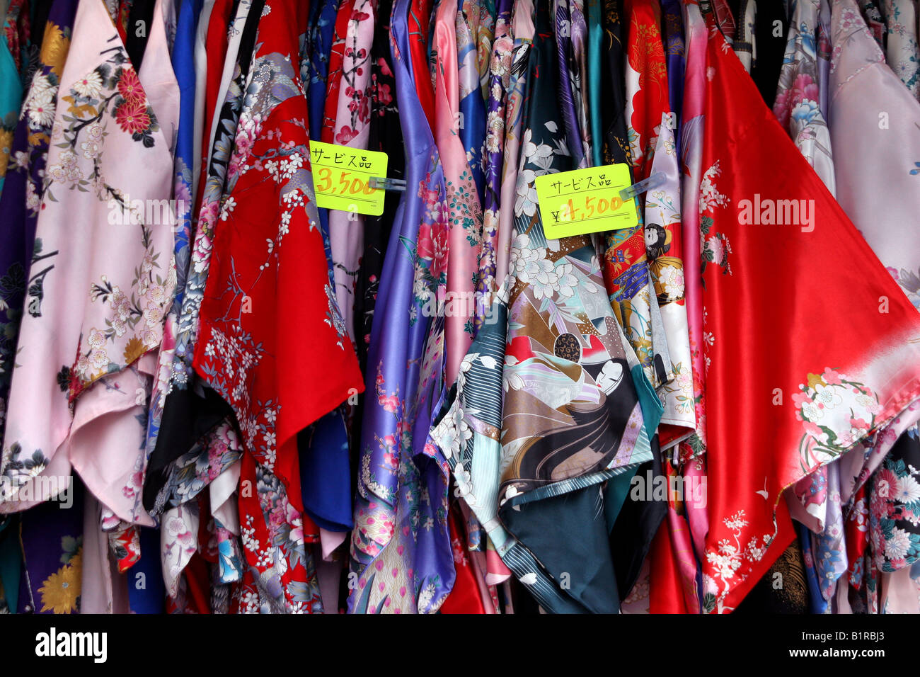 Kimono Display Shop Stock Photos Amp Kimono Display Shop