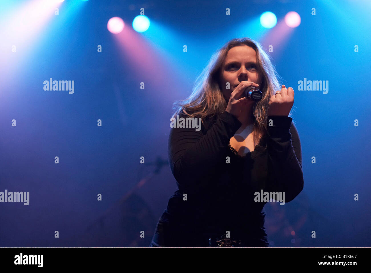 Dawn Of Destiny, supporting act for House of Lords, Konzertfabrik z7 Concert Hall, Pratteln, Switzerland, 23. of - Stock Image