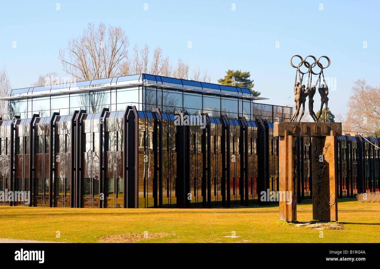 International Olympic Committee, IOC headquarters, Lausanne, Switzerland, Europe - Stock Image