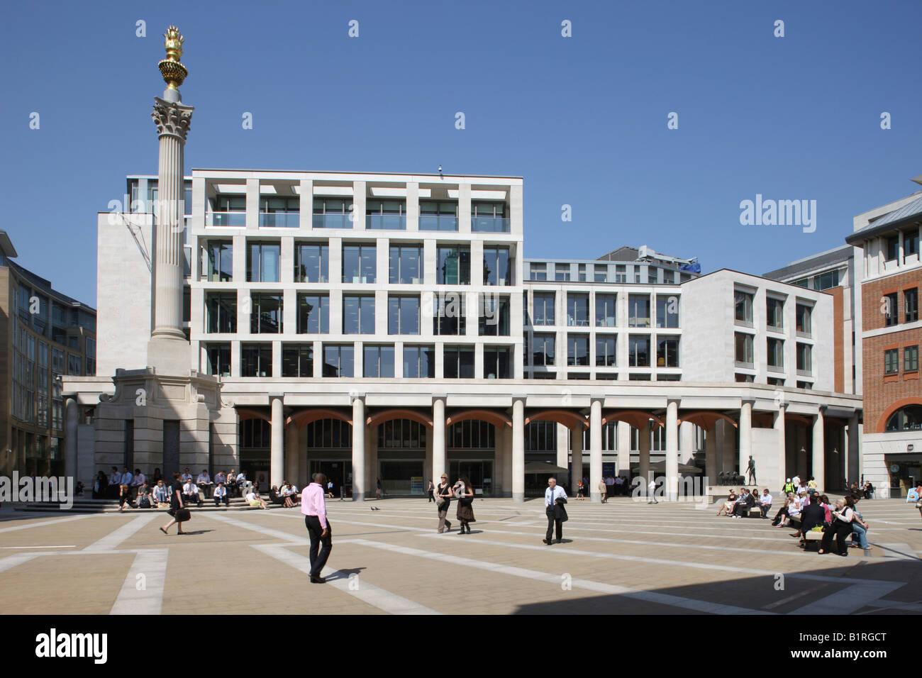 London Stock Exchange, London, England, Great Britain, Europe - Stock Image