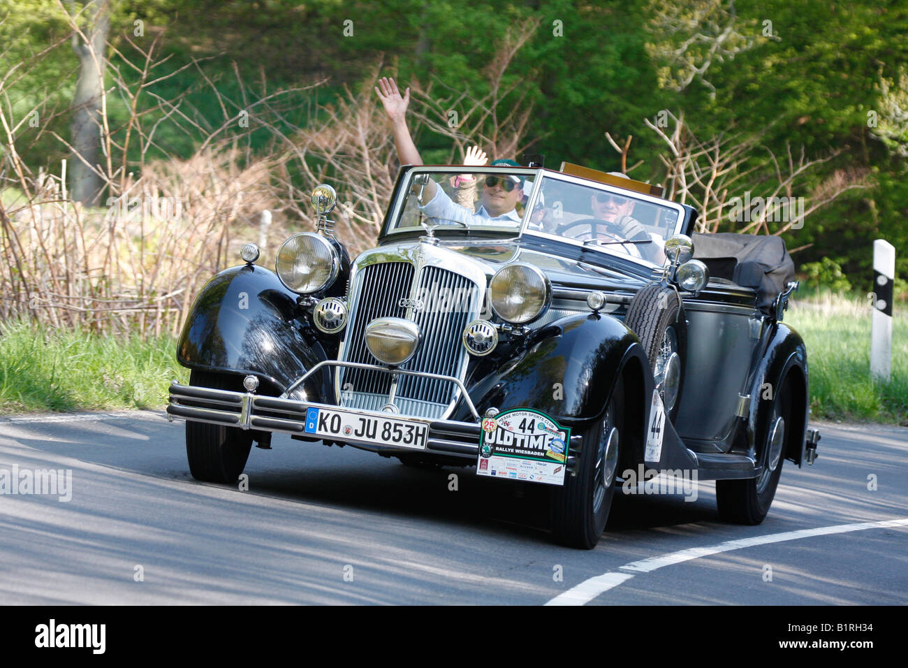 Horch 853, Auto Union, year of manufacture 1983, vintage car, a ...