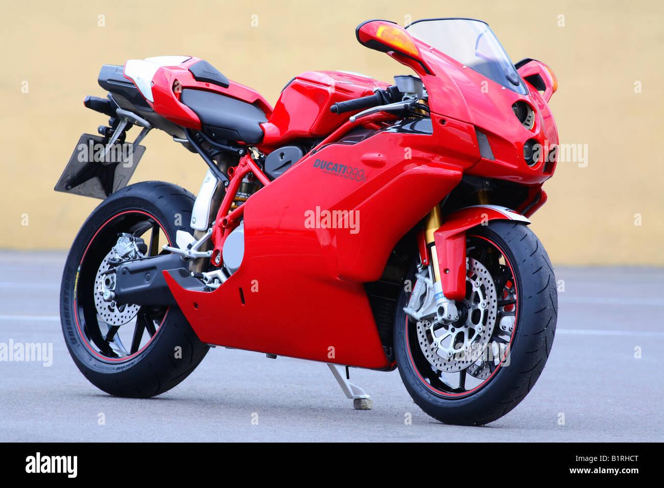 Motorbike Ducati 999R - Stock Image