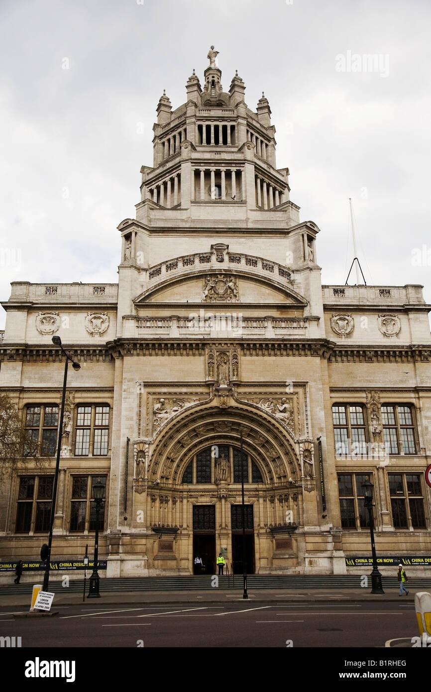 Victoria and Albert Museum, Kensington, London, Great Britain, UK, Europe Stock Photo