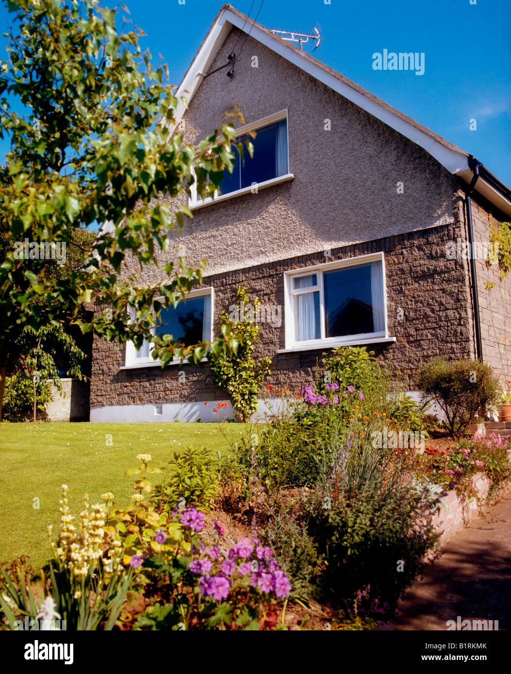 Ireland, Detached House - Stock Image
