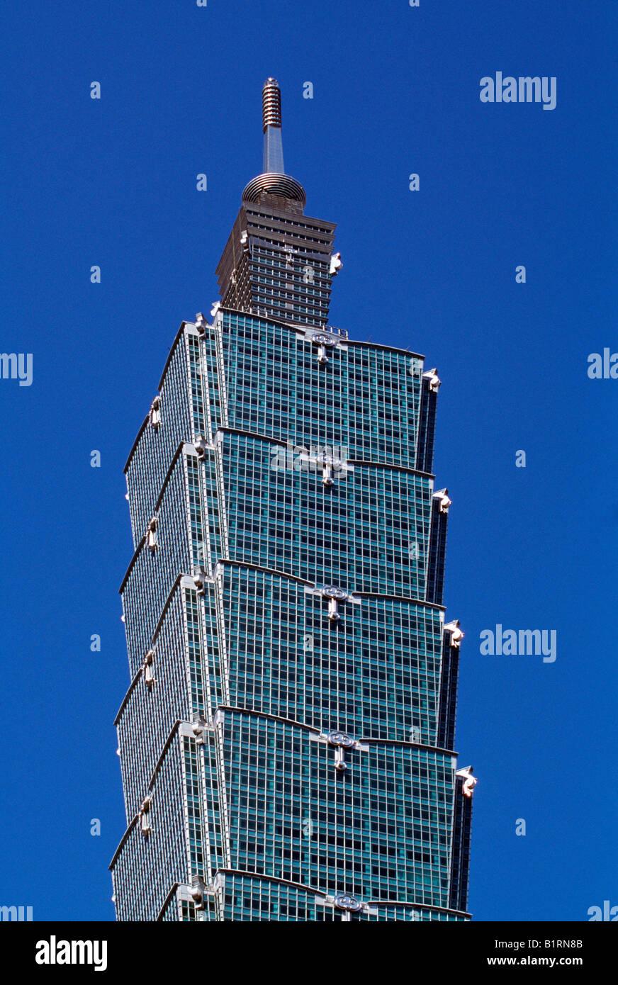 Taipei Financial Center, Taipeh, Taiwan, Asia - Stock Image