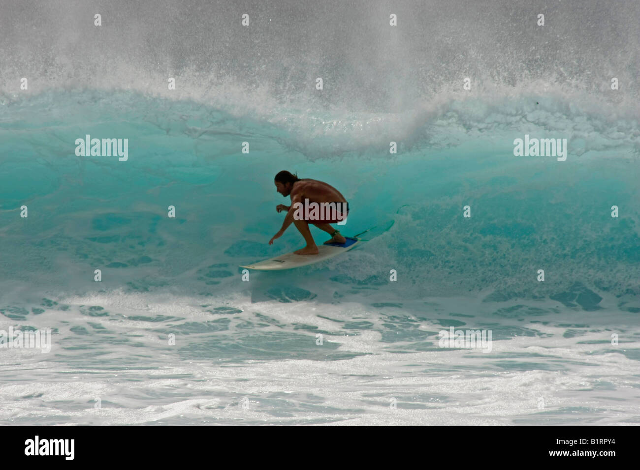 Surfer at the 2008 World Cup, Sal Island, Cape Verde, Africa - Stock Image