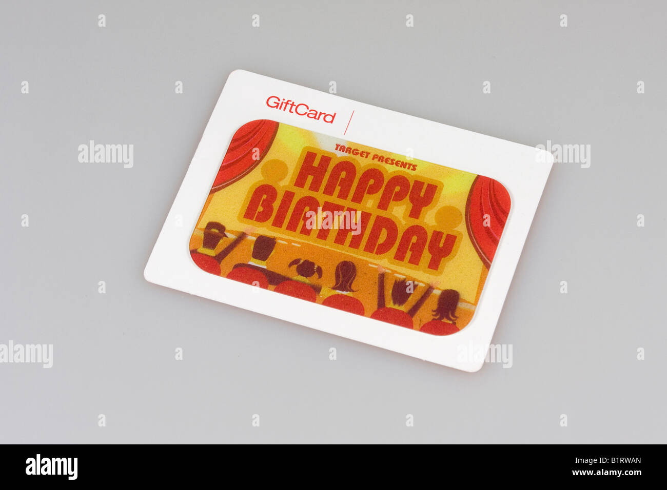 Target gift certificate, gift card Stock Photo: 18349821 - Alamy
