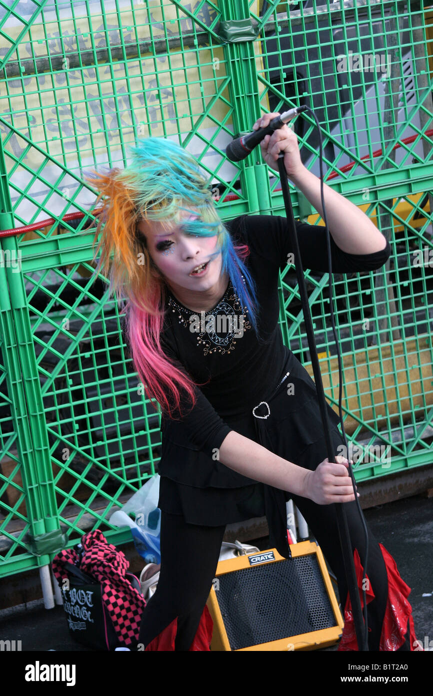 Punk Girls High Resolution Stock Photography And Images Alamy