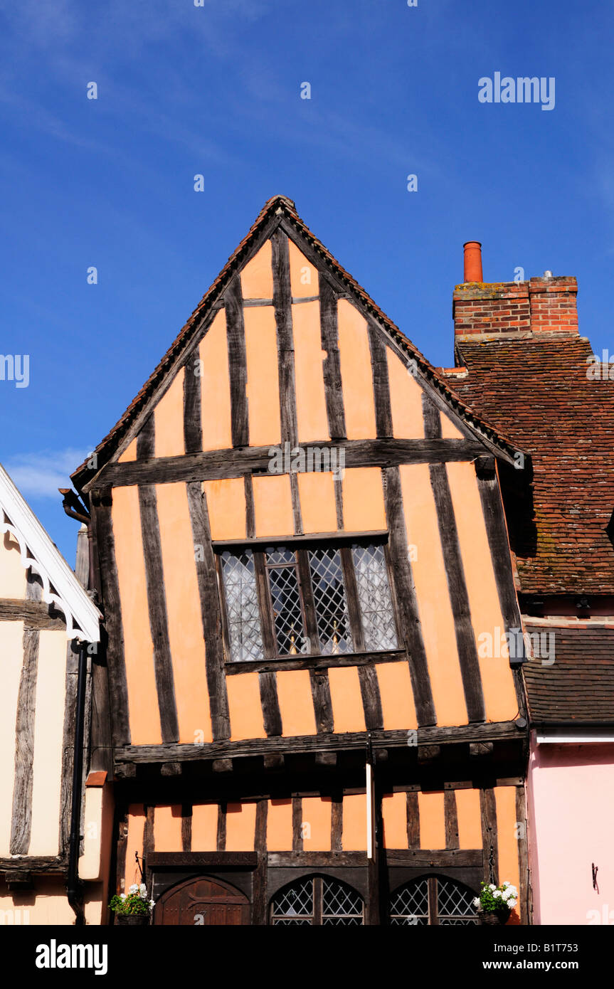 The Crooked House Lavenham Suffolk England UK - Stock Image