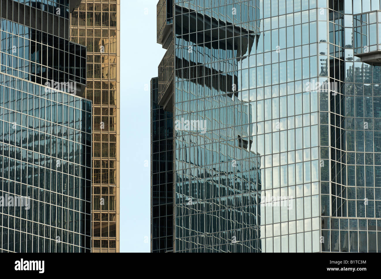 office space hong kong. Glass Mountains Formed By Tall Office Building Crowd Hong Kong - Stock Image Space