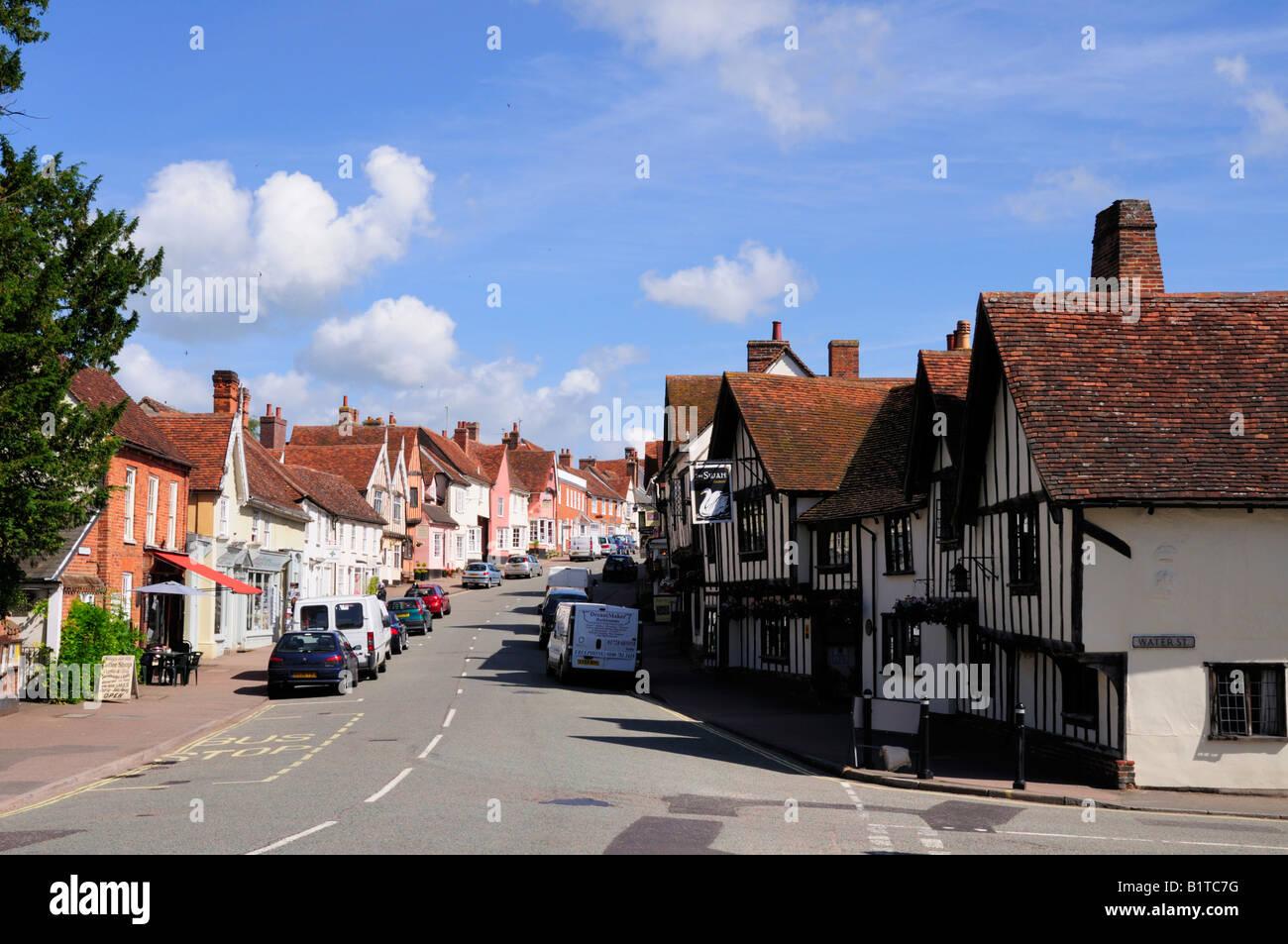 Lavenham, Suffolk, England, UK - Stock Image