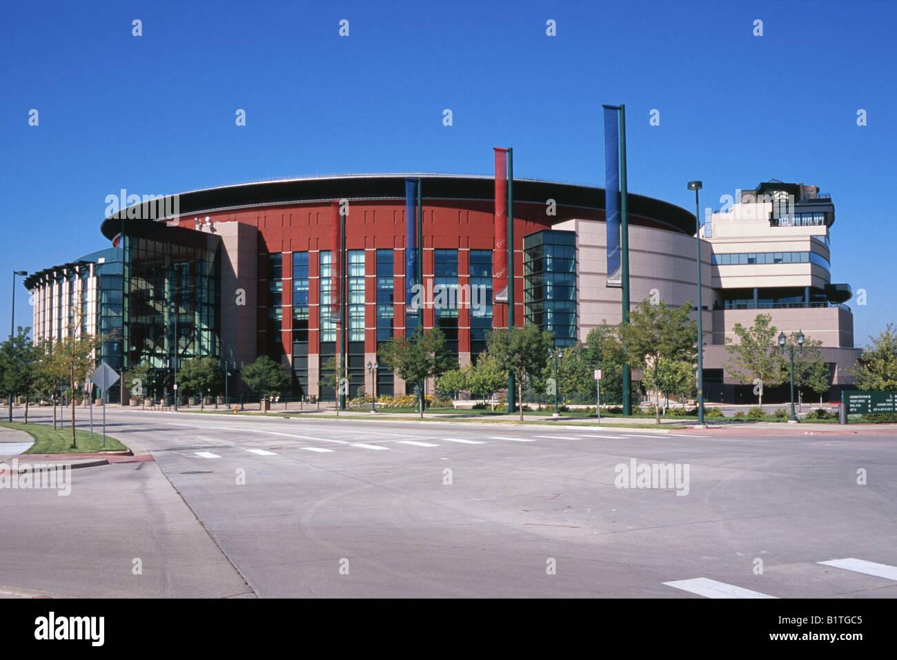 The Pepsi Center sports arena in Denver Colorado USA Stock